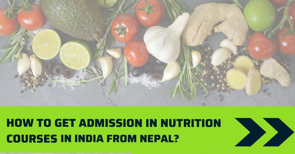 Nutrition Courses in India from Nepal